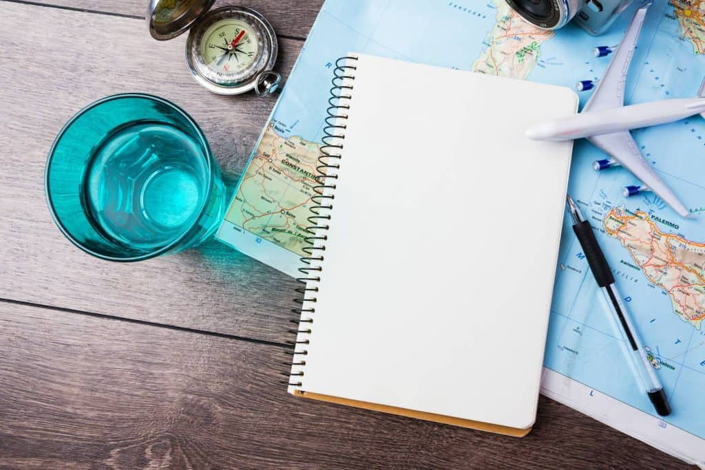 travel inspiration plan
