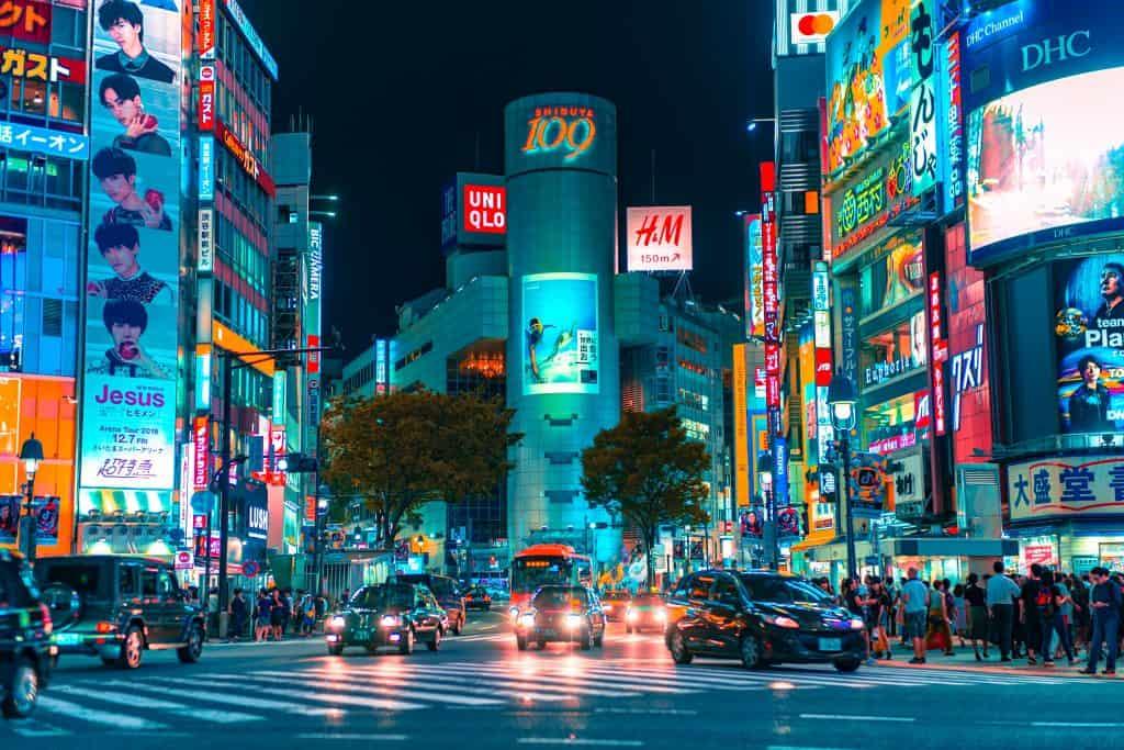 japonska prevoz