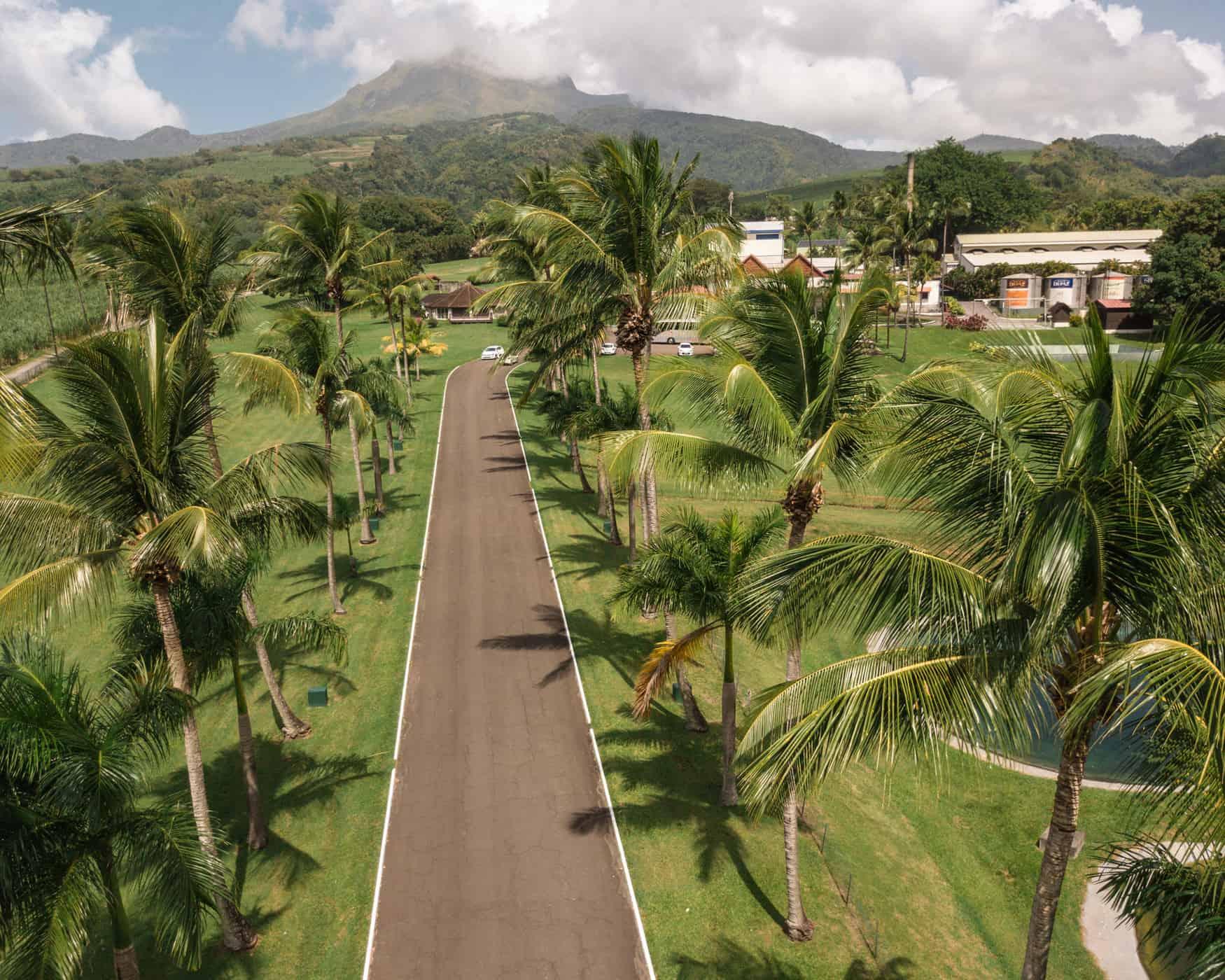 Mont Pelée, Martinik, Karibi