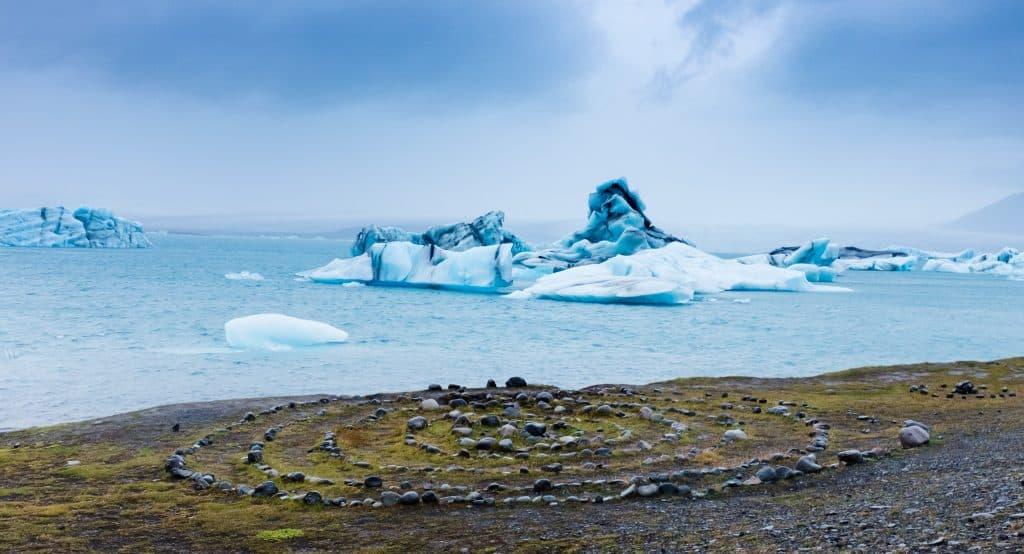 Jökulsárlón Islandija