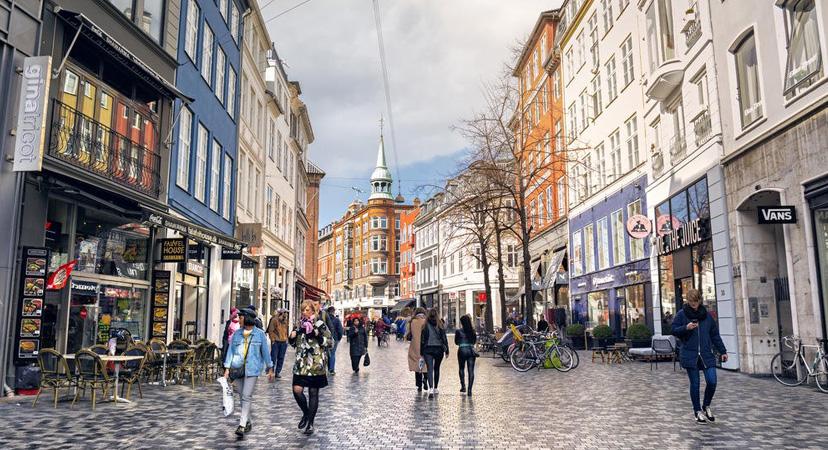 Kopenhagen je najbolji grad za kratko putovanje, Stroget