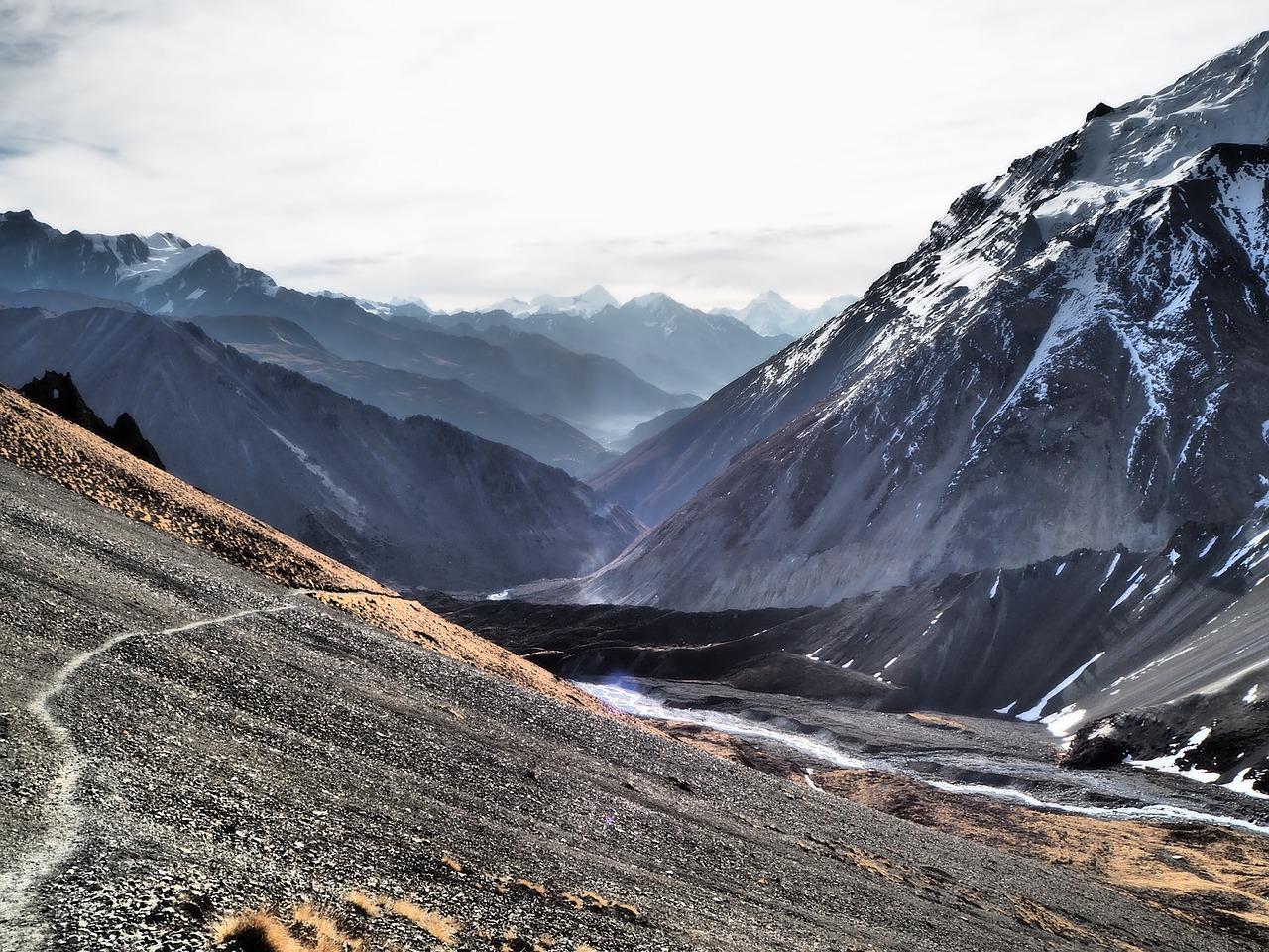 Anapurna, Nepal, Treking