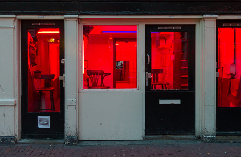 Amsterdam, Crvena četvrt