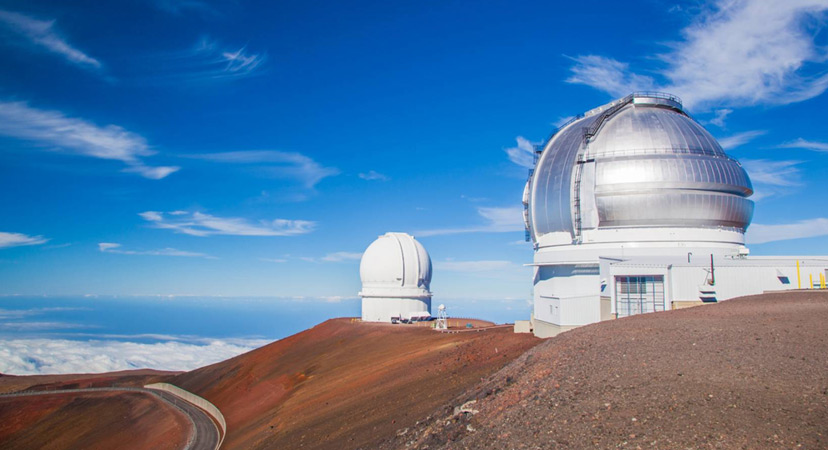 Havaji Mahuna Kea teleskop