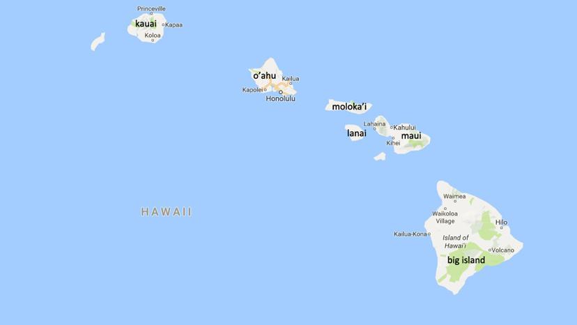 karta Havaji