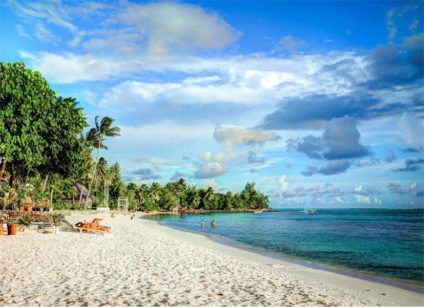 Novo leto na plaži - Tajska