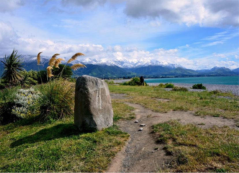 Novo leto na plaži - Kaikoura, Nova Zelandija