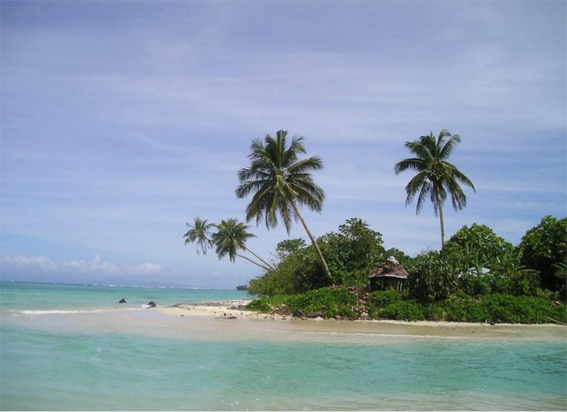 Novo leto na plaži - Samoa