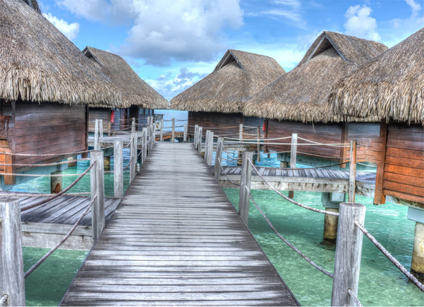 Novo leto na plaži - Bora Bora
