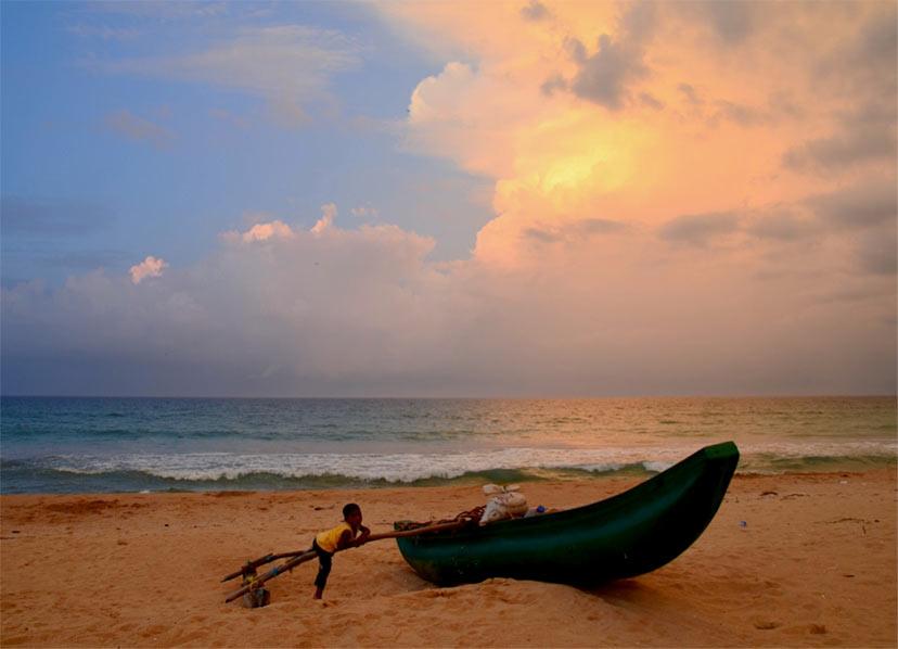 Novo leto na plaži - Šrilanka