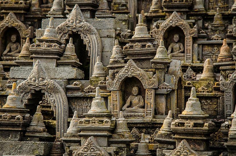 Borobudur,Tajska