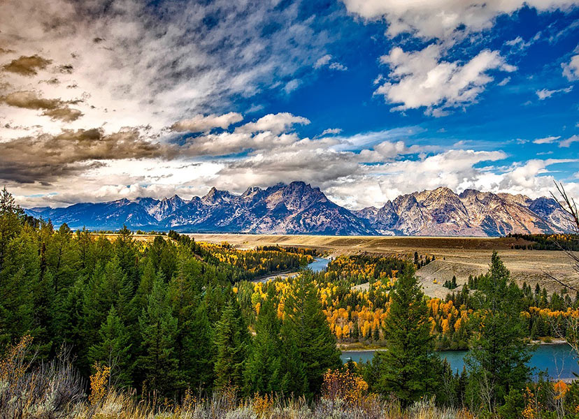ZDA: Narodni park Grand Teton in Yosemite