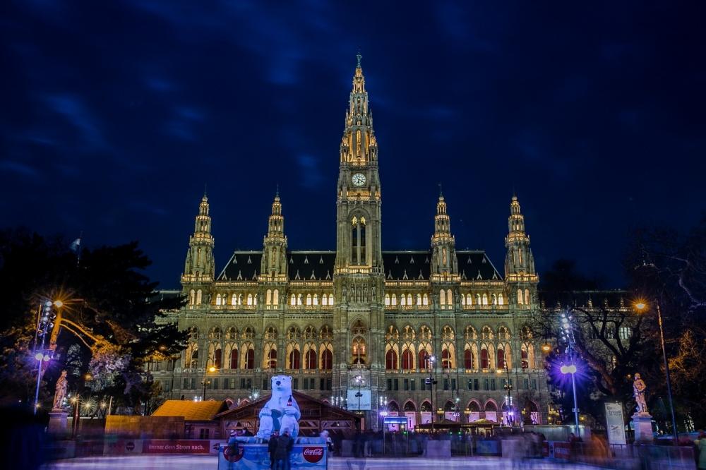 Kam za novo leto? Dunaj.