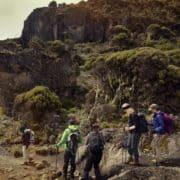 Gora kilimandžaro in treking po poti machame 1