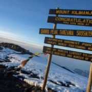 Gora kilimandžaro in treking po poti machame 11