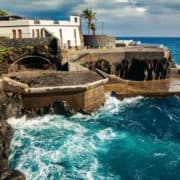 Madeira rocks sea funchal