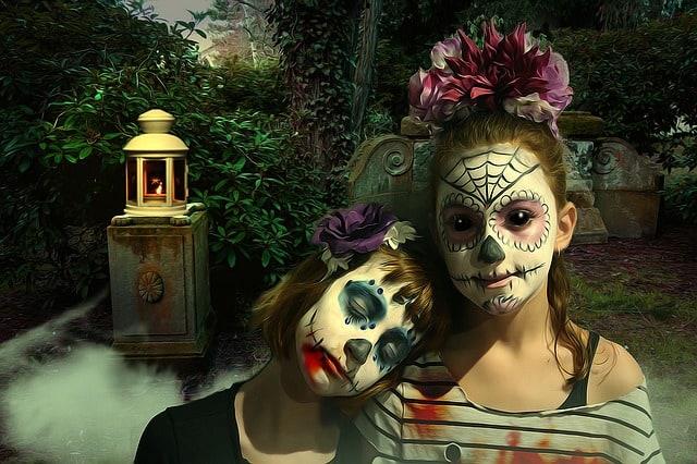 praznovanje noci carovnic po svetu dia de los muertos
