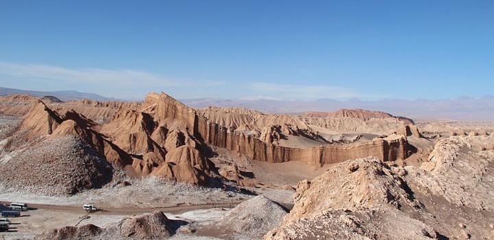 Patagonija potovanje cile valley of the moon