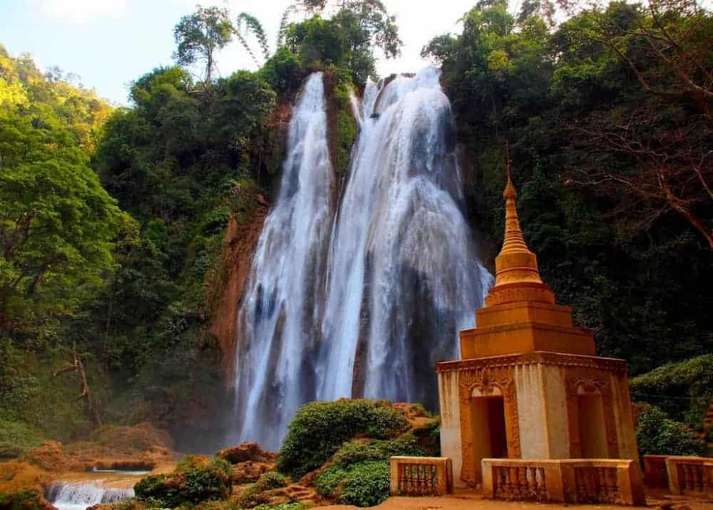 Vodopad mjanmar