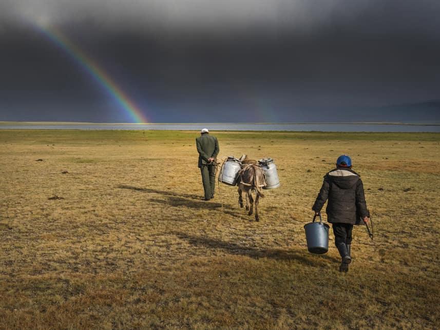 stapotovanja kirgizija foto razstava