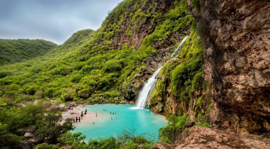 oman salalah waterfalls shutterstock 707001616 big