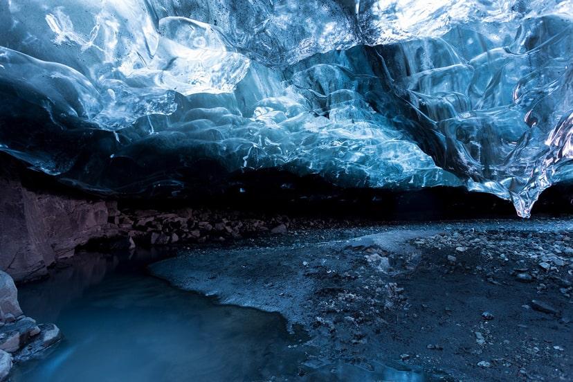 ledene špilje island