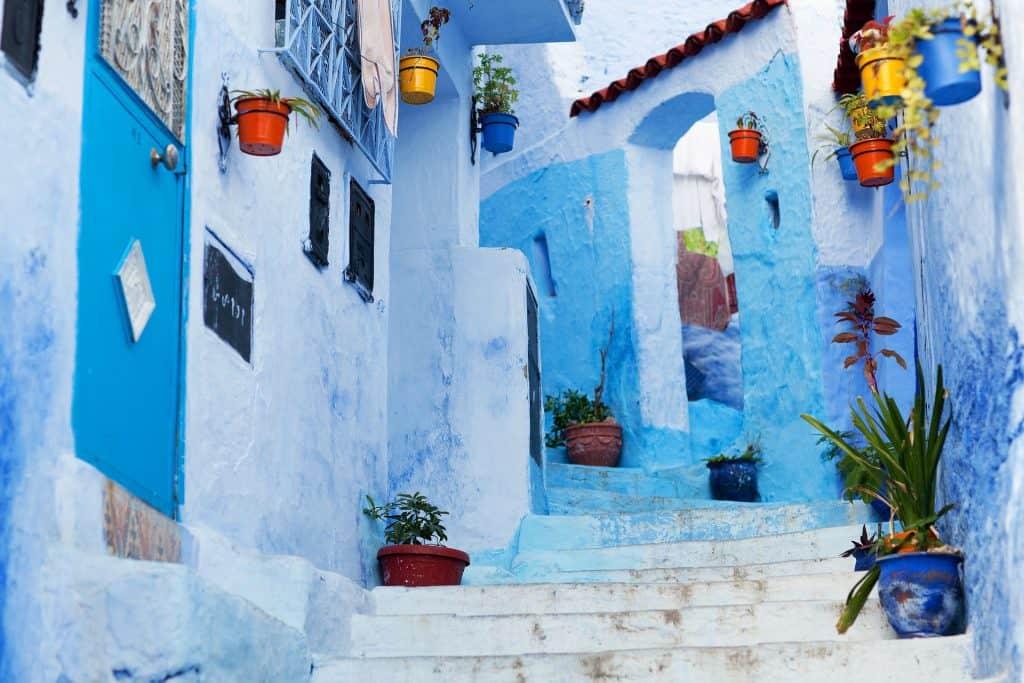 chefchaouen - maroko - jesenska potovanja