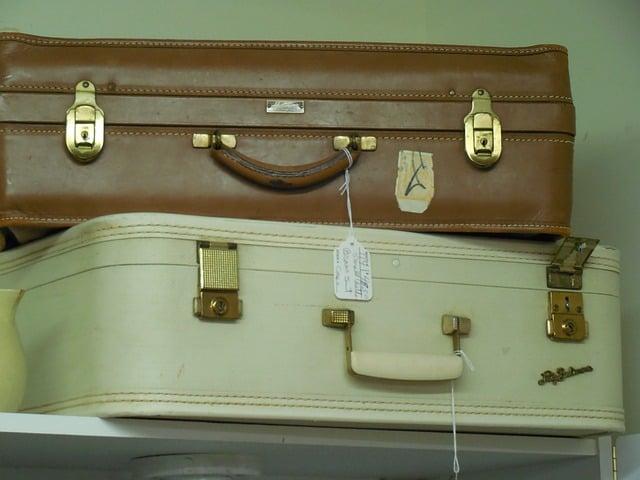 kako so z letali potovali nekoc 4 - prtljaga