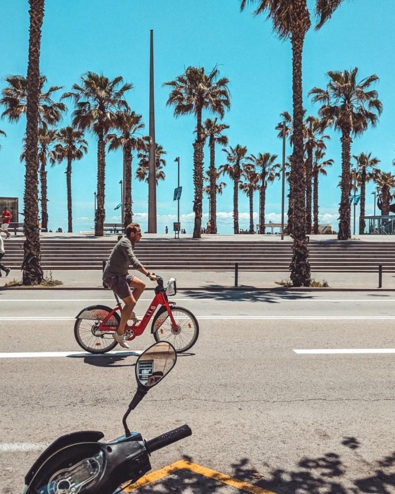 barcelona bicikli 3