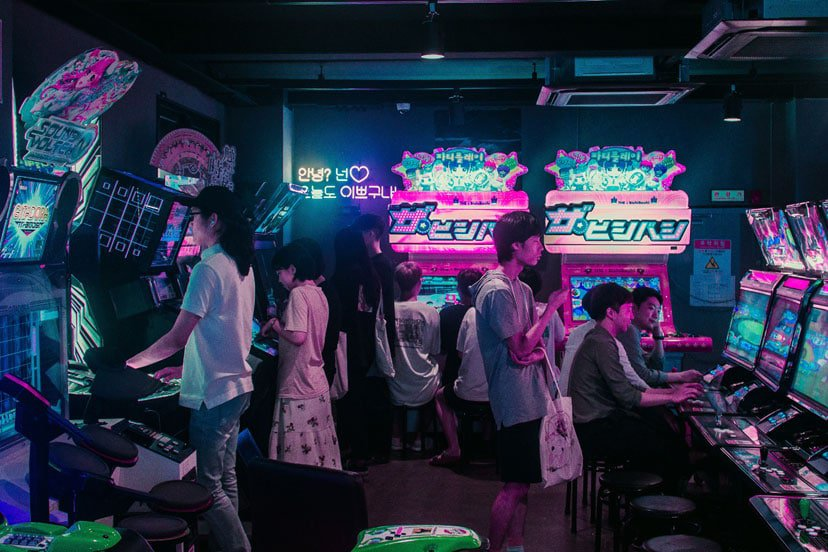 game room koreja