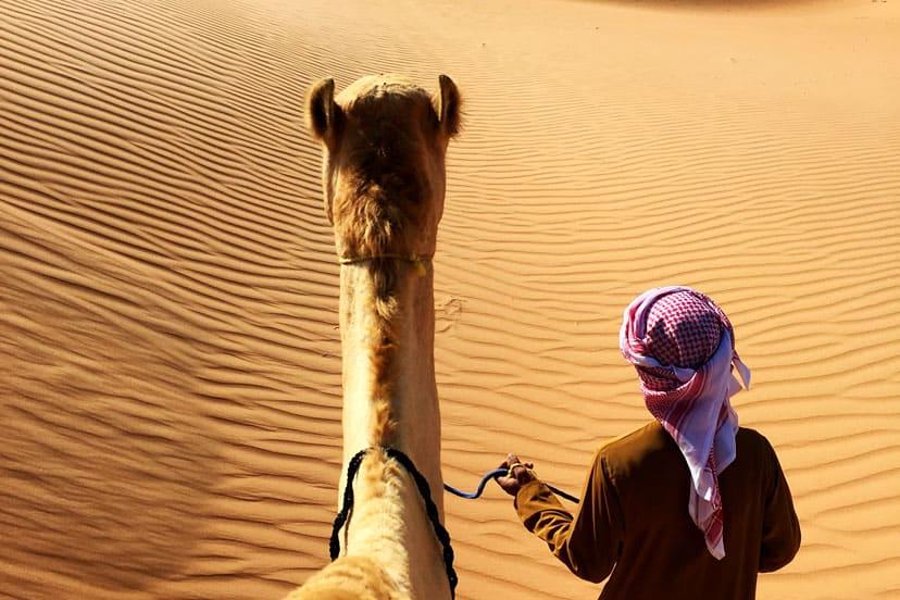 Oman, pustinja Wahiba