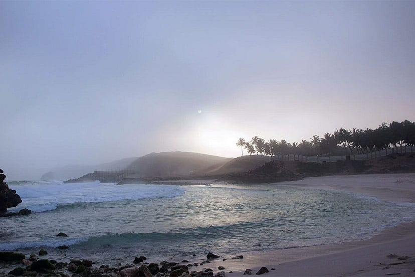 Oman, Salalah, Plaža Al Mughseel