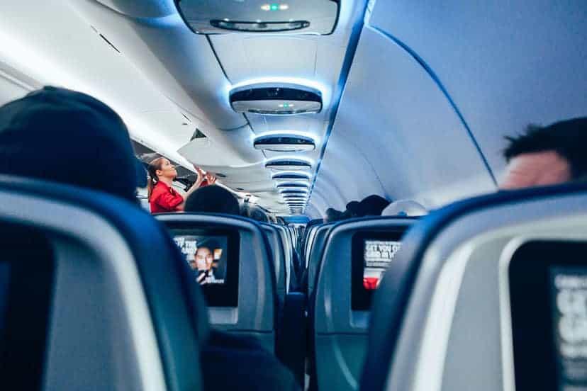 avion kabina