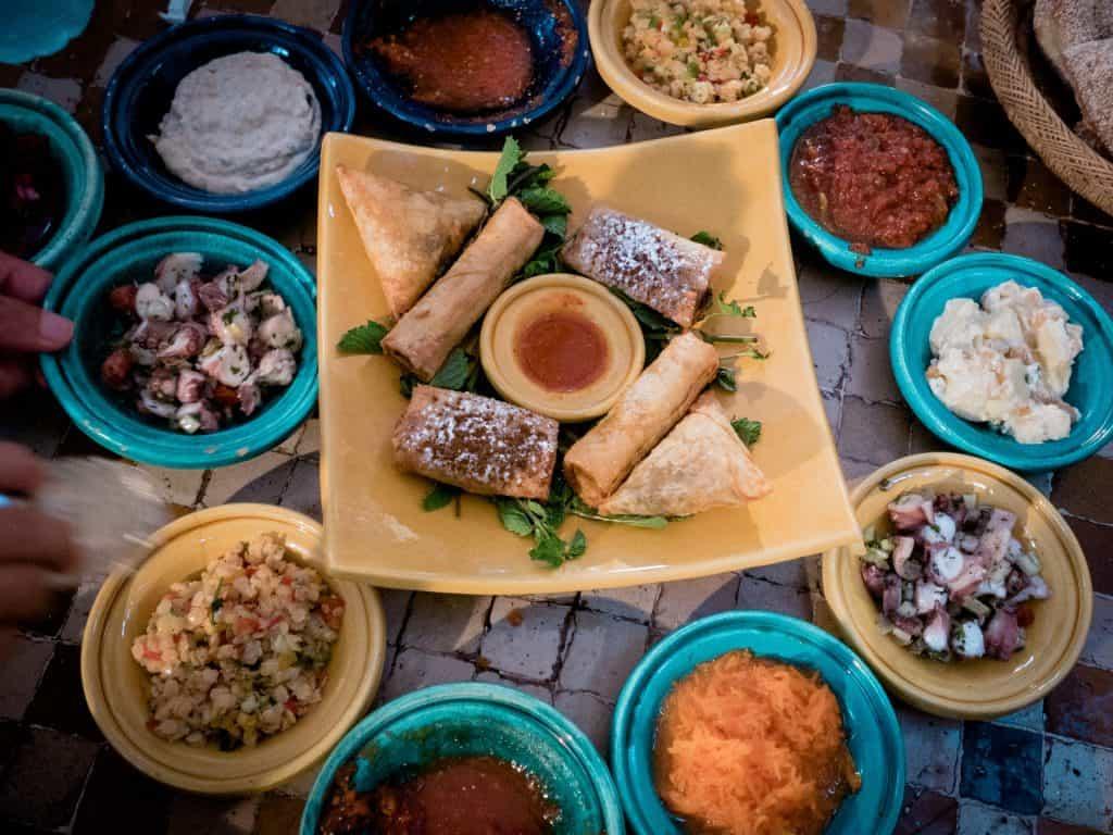 casablanca food
