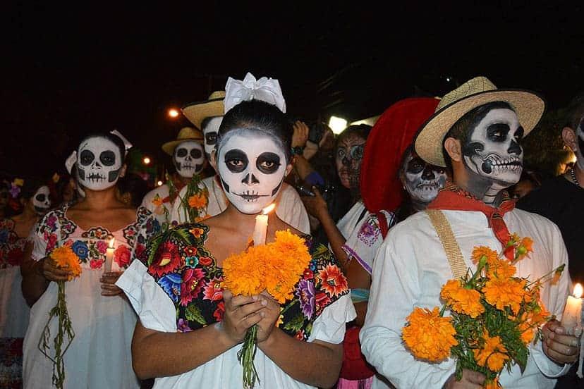 Dan mrtvih, Meksiko