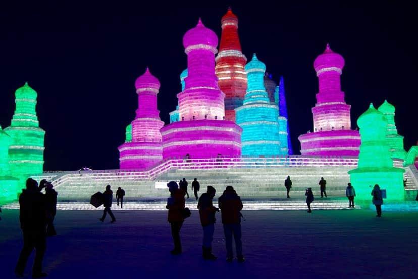 Festival leda Harbin, Kina