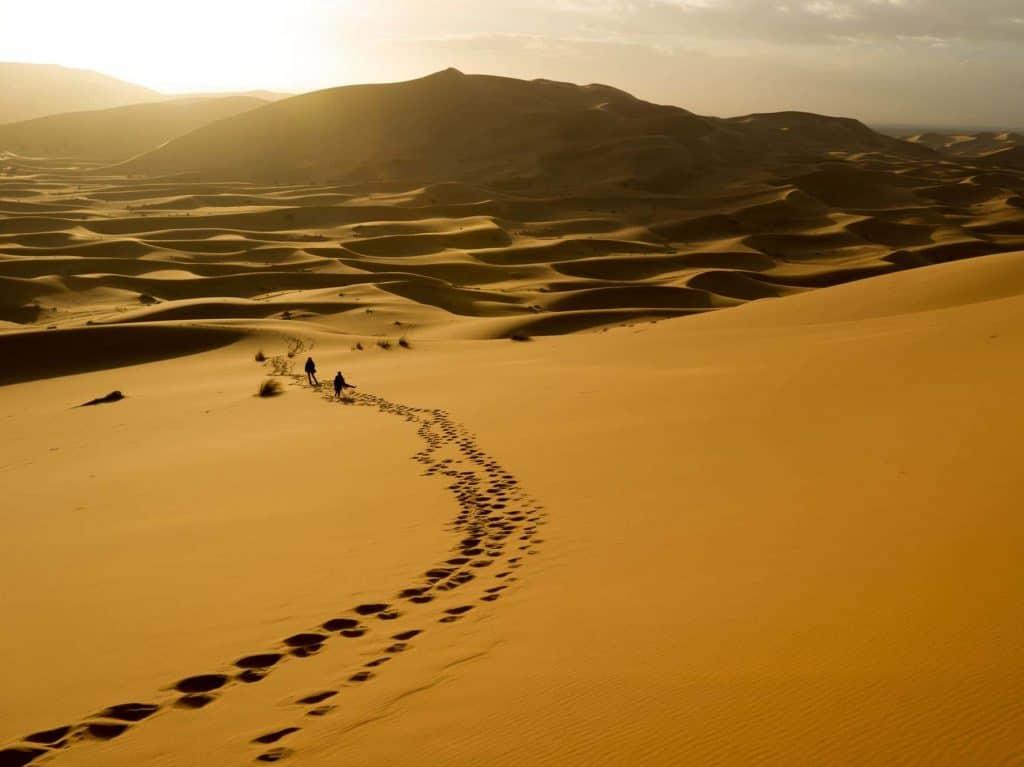 potovalni ponedeljek maroko puscava