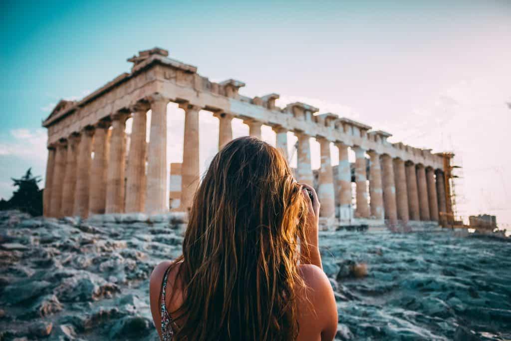 greece atene akropola