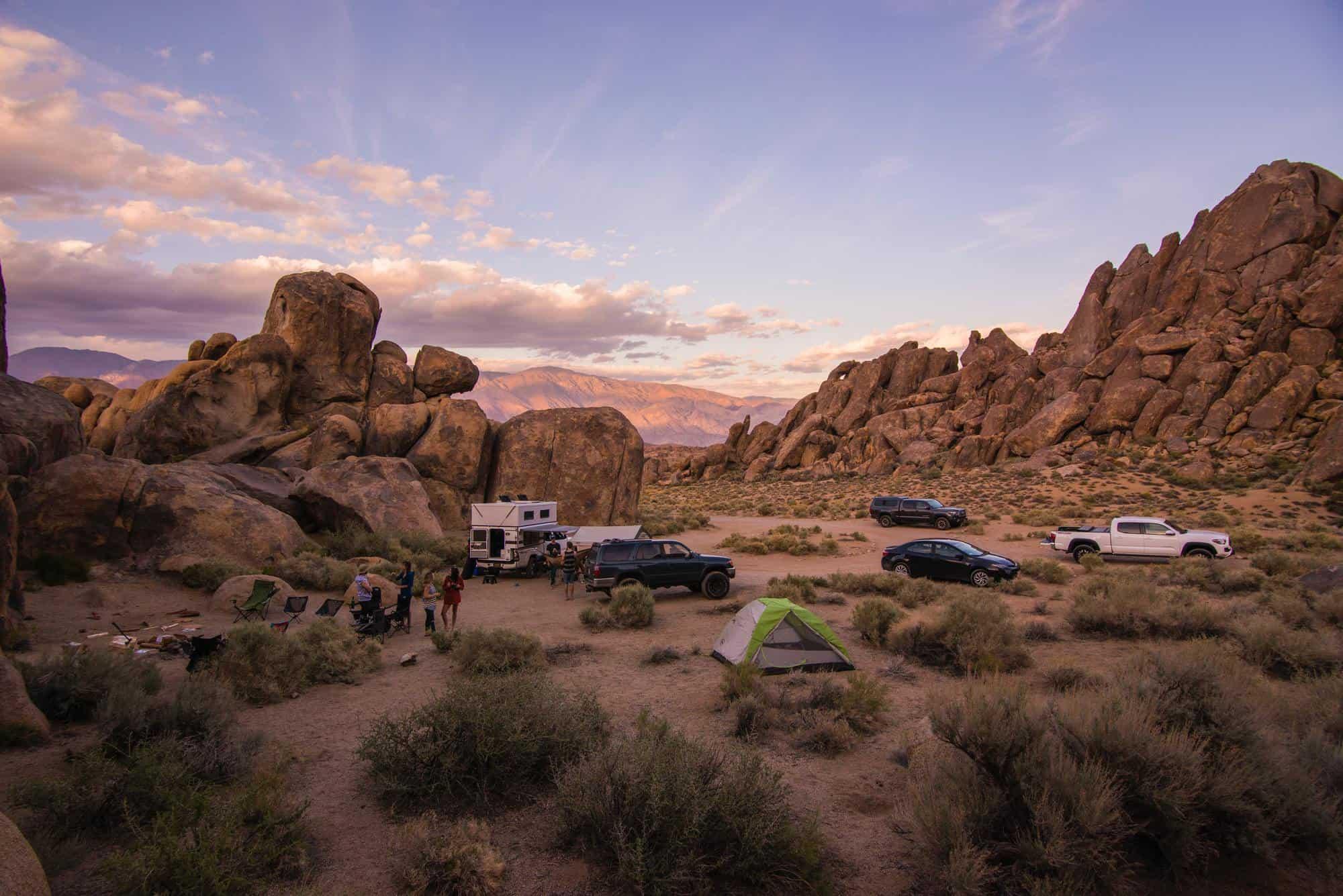kamper puščava
