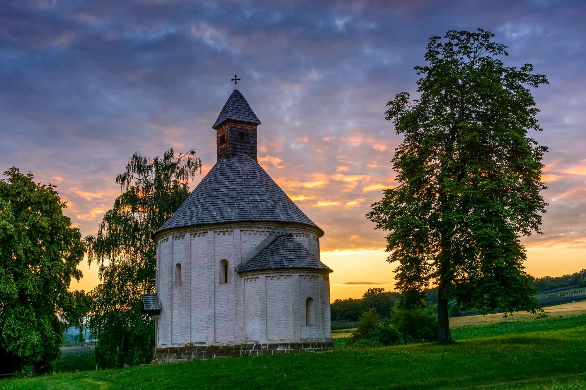 rotunda prekmurje slovenija
