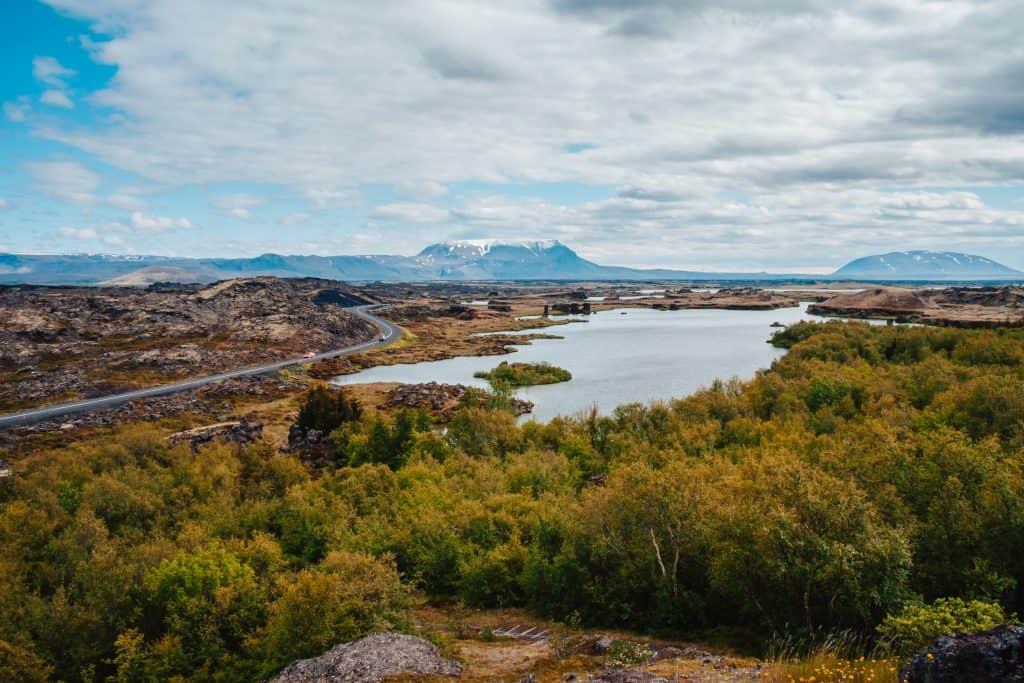 Mývatn Islandija