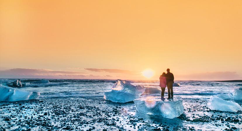 Putovanje za Valentinovo, Island