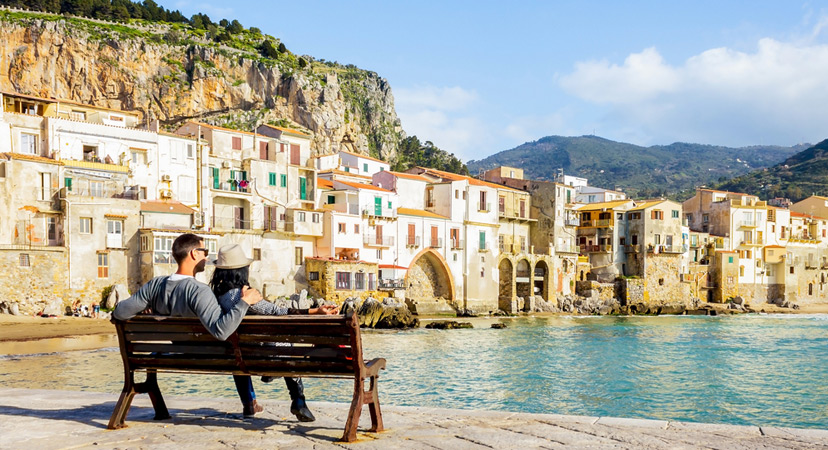 Putovanje za Valentinovo, Sicilija, Italija