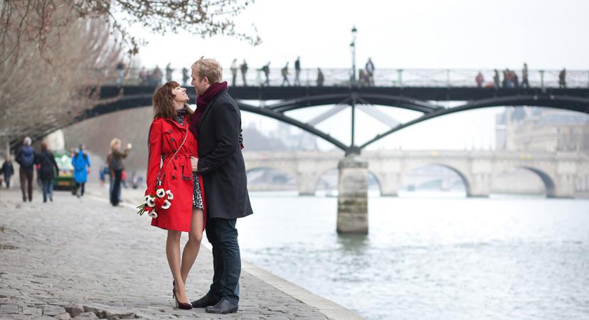 Putovanje za Valentinovo, Pariz, Francuska