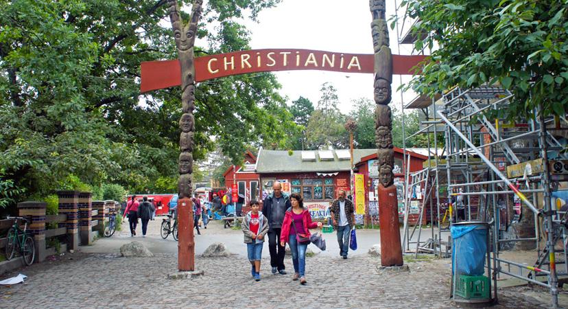 Kopenhagen je najbolji grad za kratko putovanje, Christiania