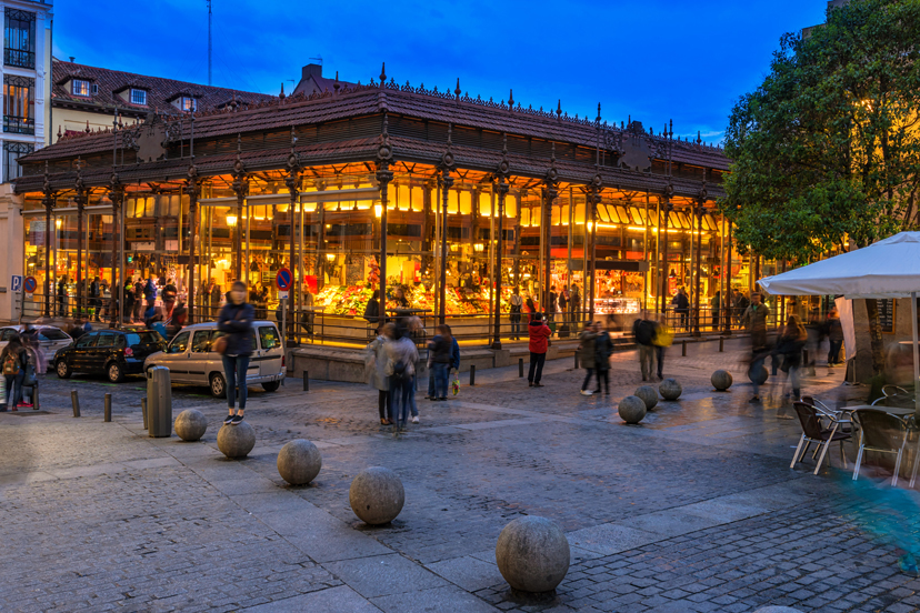 Putovanje u Madrid, San Miguel