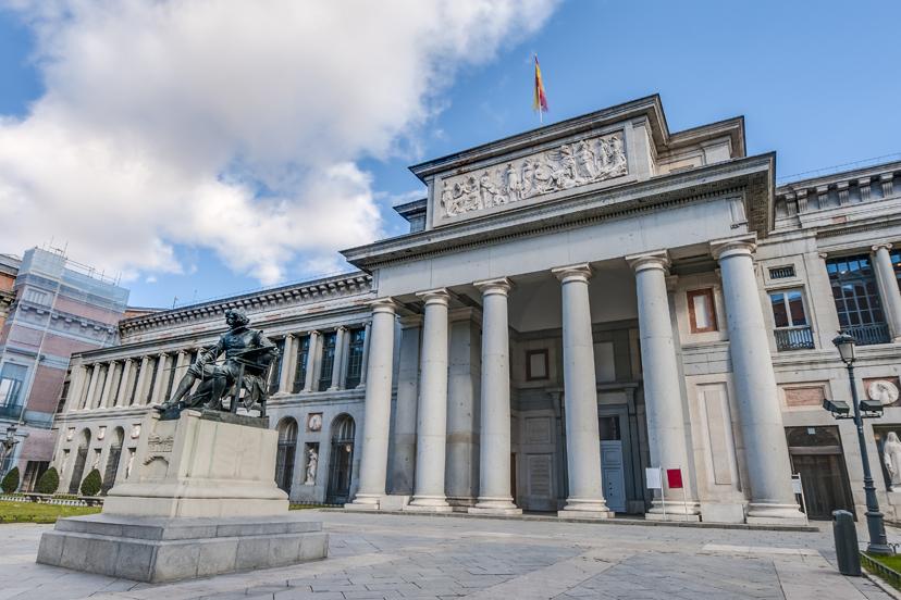 Putovanje u Madrid, muzej Prado