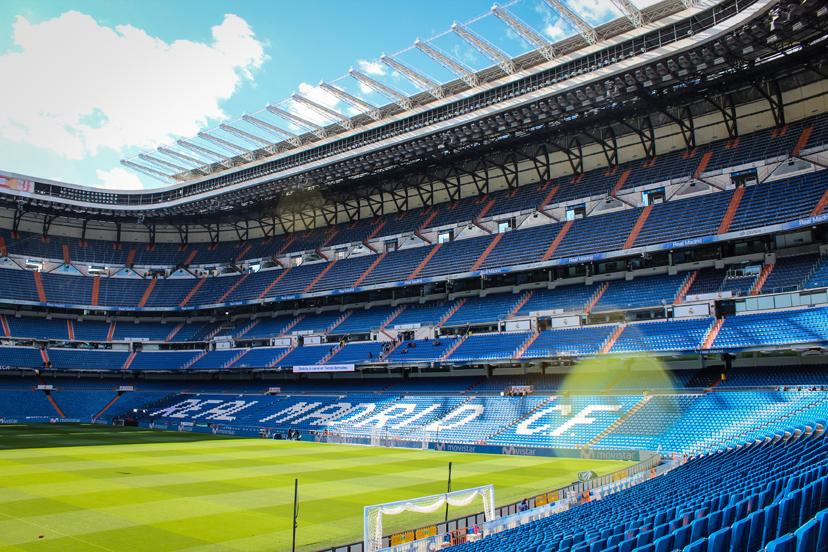 Putovanje u Madrid, Stadion Bernabeu