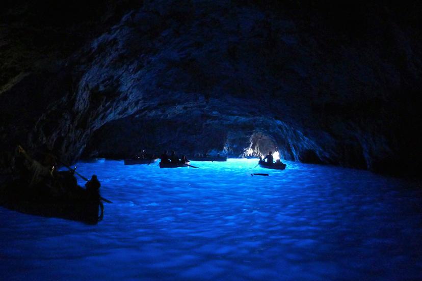Italija: Plava špilja