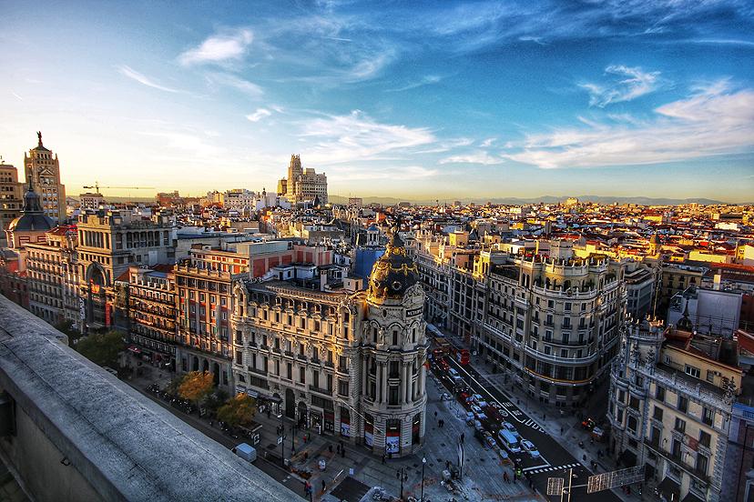 Putovanje u Madrid, Gran Via